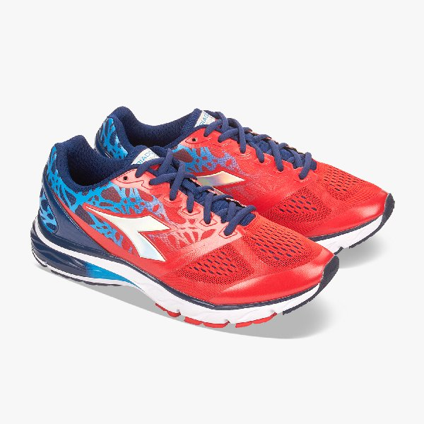 Diadora Mythos Blushield blu/red
