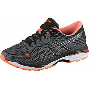 Asics Gel Cumulus 19 Carbon/Black/hot orange