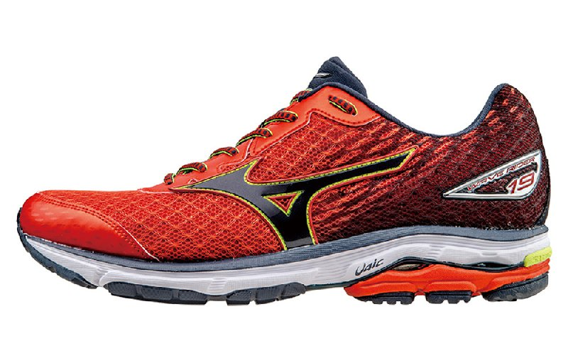 Mizuno Wave Rider 19 Red