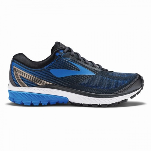 Brooks Ghost 10  Ebony Metallic