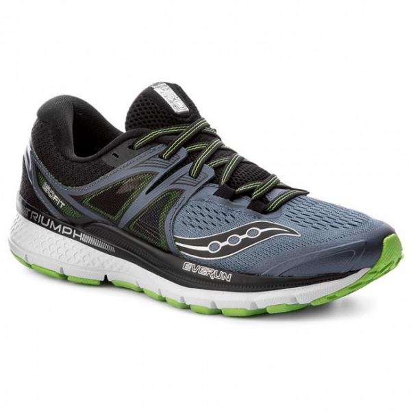 Saucony Triumph ISO 3 Gry/Blk