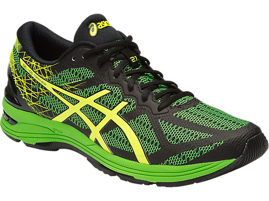 Asics DS Trainer 21 Blk/yellow/green