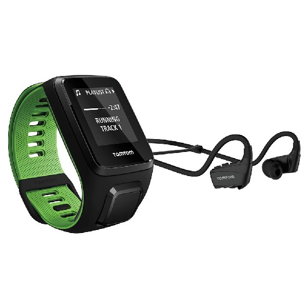Tom Tom Runner Watch+cardio+Music+CUFFIE