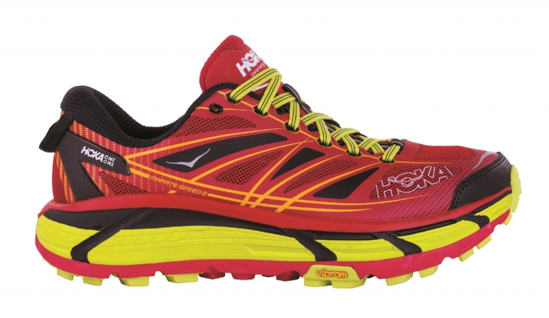 Hoka Mafate Speed 2 True Red