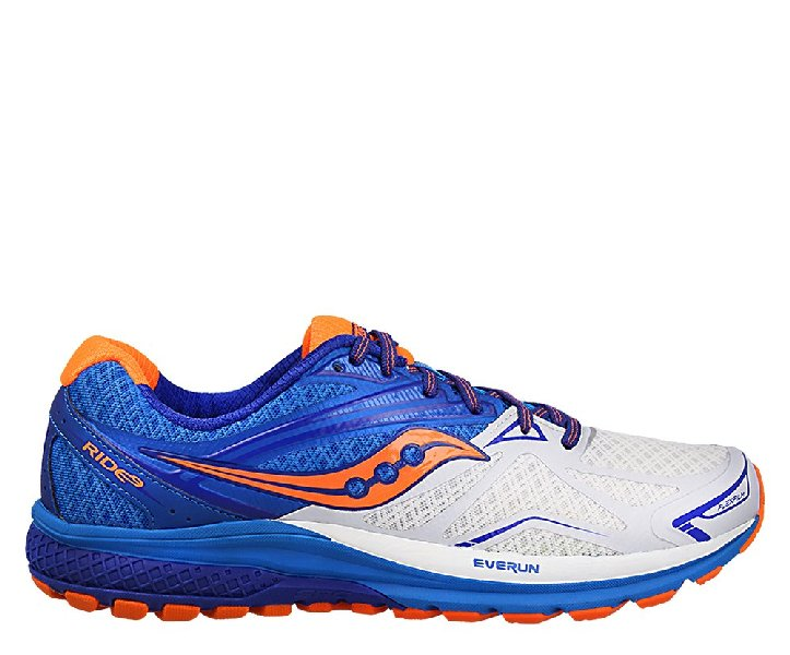 Saucony Ride 9 White/Blu/orange