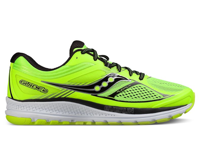 Saucony Guide 10 Flash Yellow